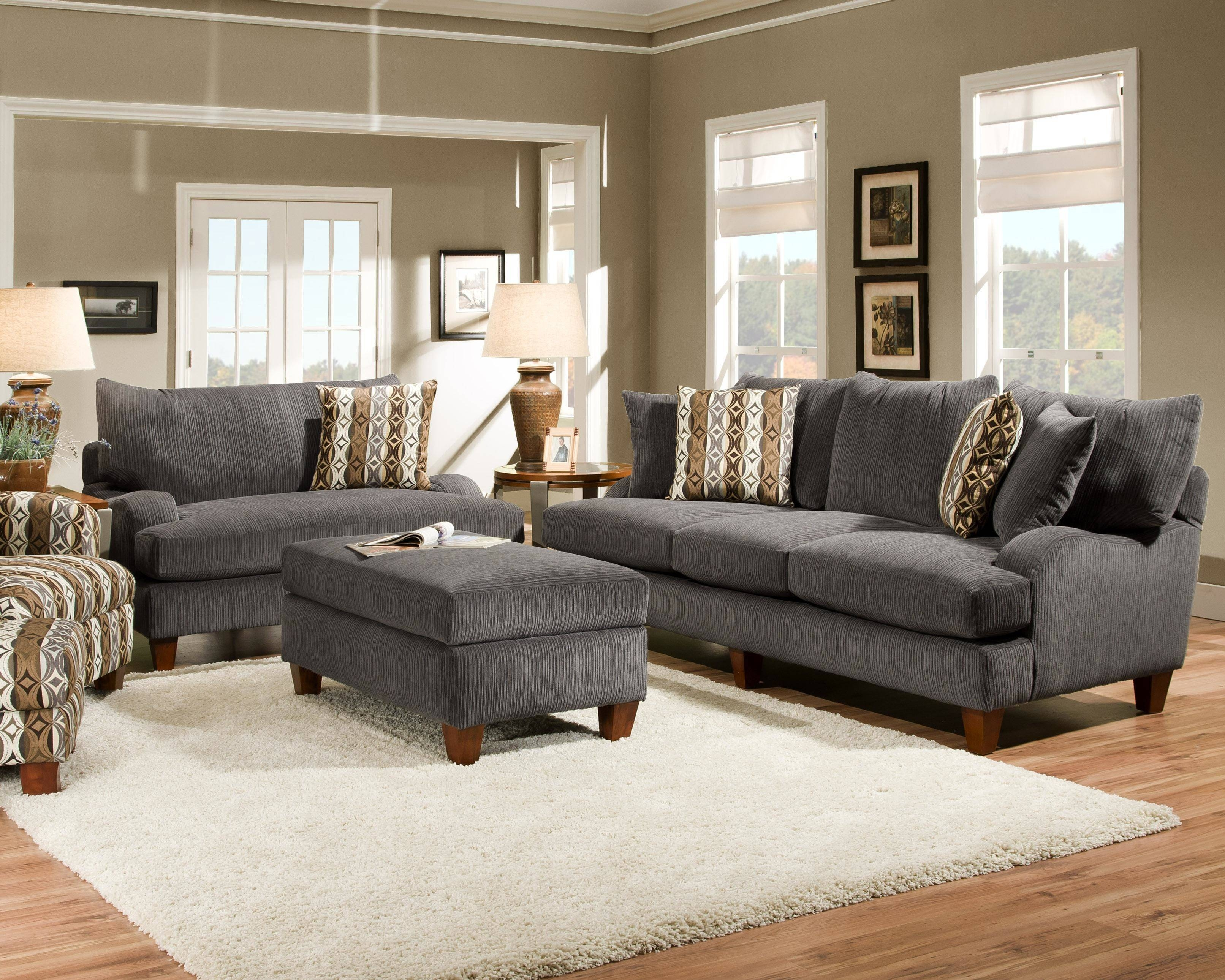 Gray Sofa Living Room Design Grey Couches In Living Rooms Dark pertaining to Gray Sofas (Image 13 of 15)