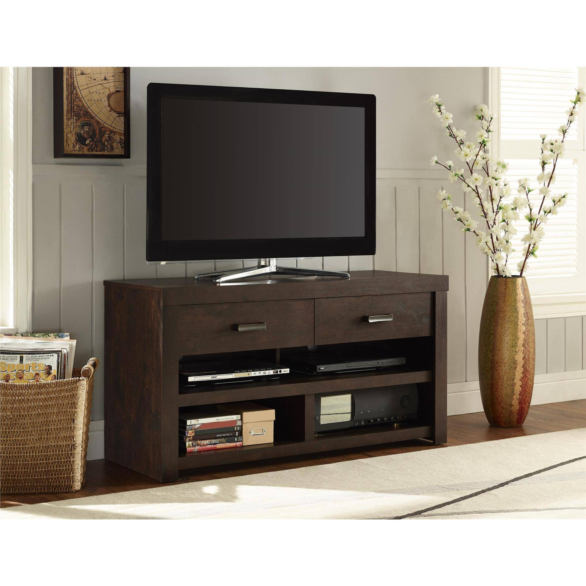 Great Dark Walnut Tv Stand 75 On Home Pictures With Dark Walnut Tv Intended For Dark Walnut Tv Stands (View 2 of 15)