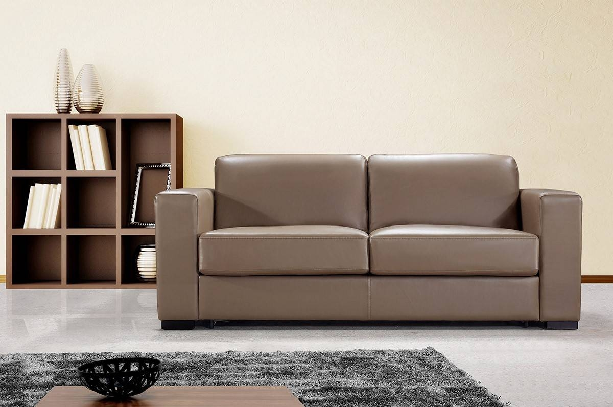 Great Modern Leather Sofa 66 In Contemporary Sofa Inspiration With intended for Contemporary Brown Leather Sofas (Image 11 of 15)