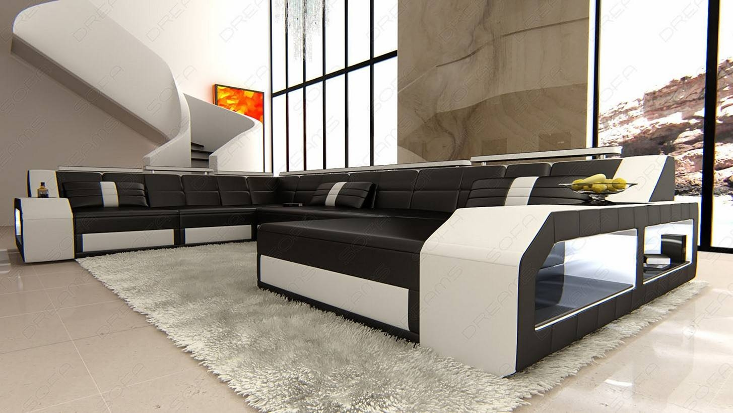 Great Modern White Living Room Furniture With Choosing Black And throughout Sofas Black and White Colors (Image 9 of 15)