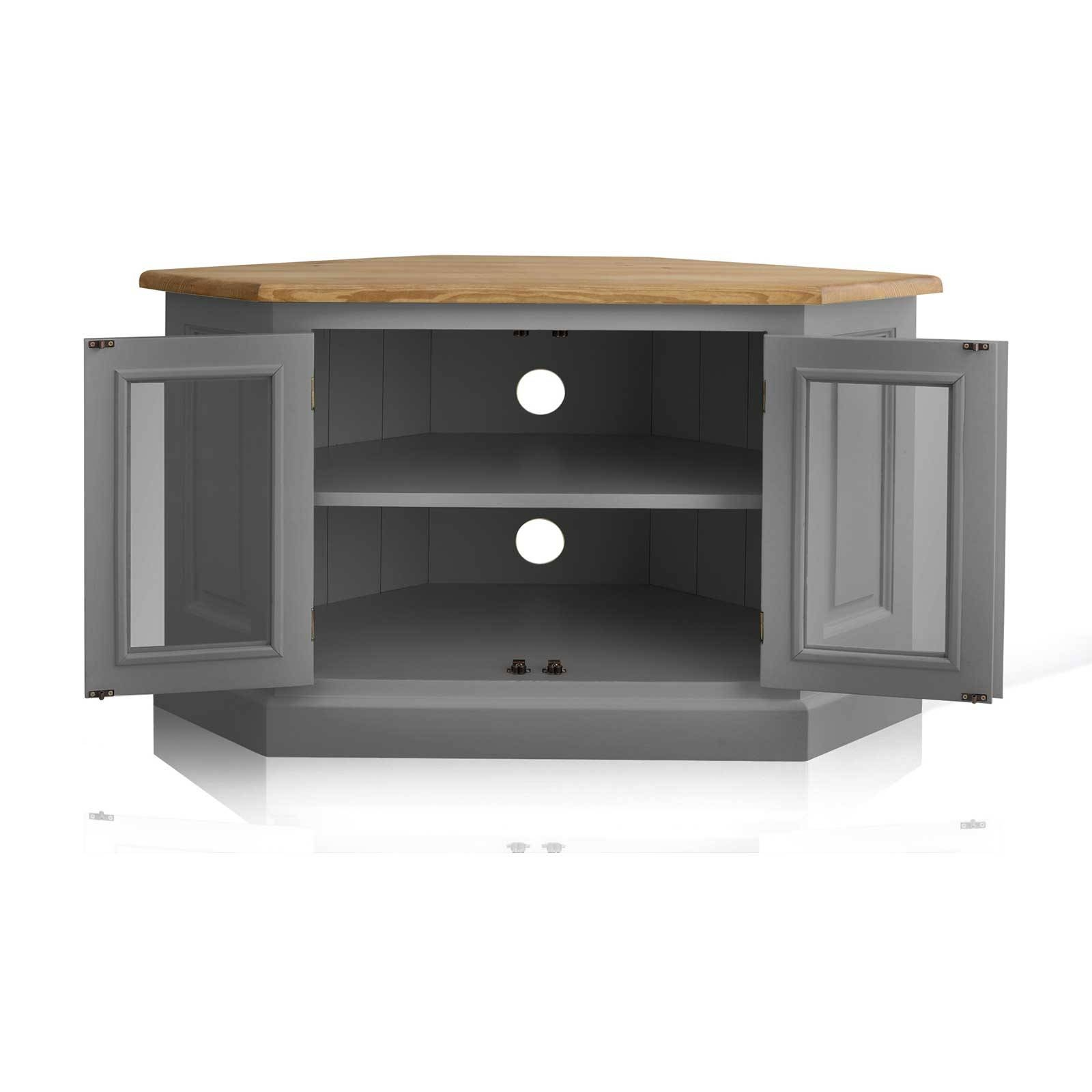 Grey Corner Tv Stand Cool On Home Decorating Ideas Together With For Tv Stands Corner Units (View 11 of 15)