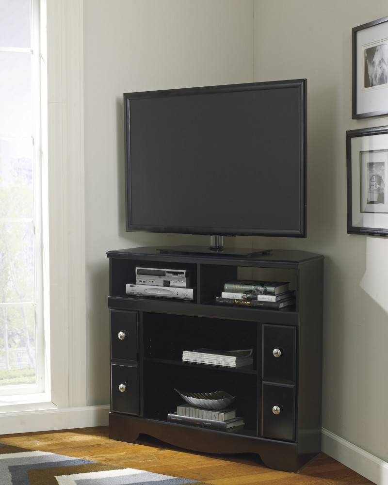 Grey Corner Tv Stand Shocking On Home Decorating Ideas In Company inside Grey Corner Tv Stands (Image 5 of 15)