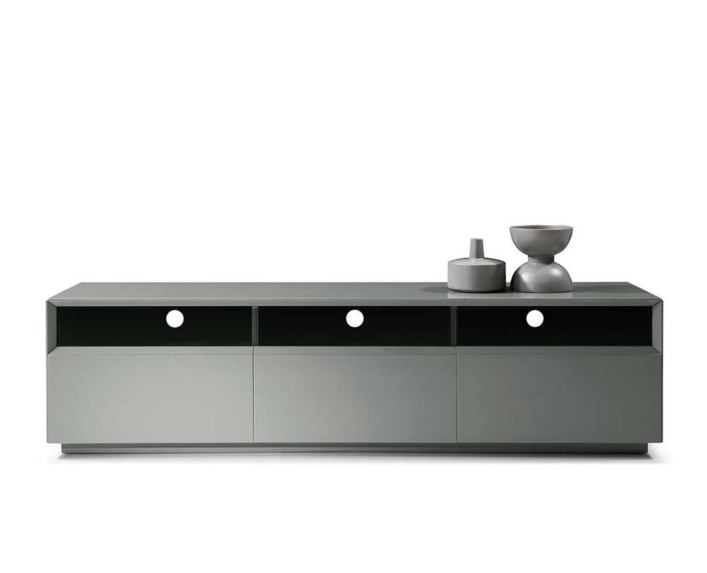 Grey High Gloss Tv Unit Sj023 | Tv Stands with White High Gloss Corner Tv Unit (Image 5 of 15)