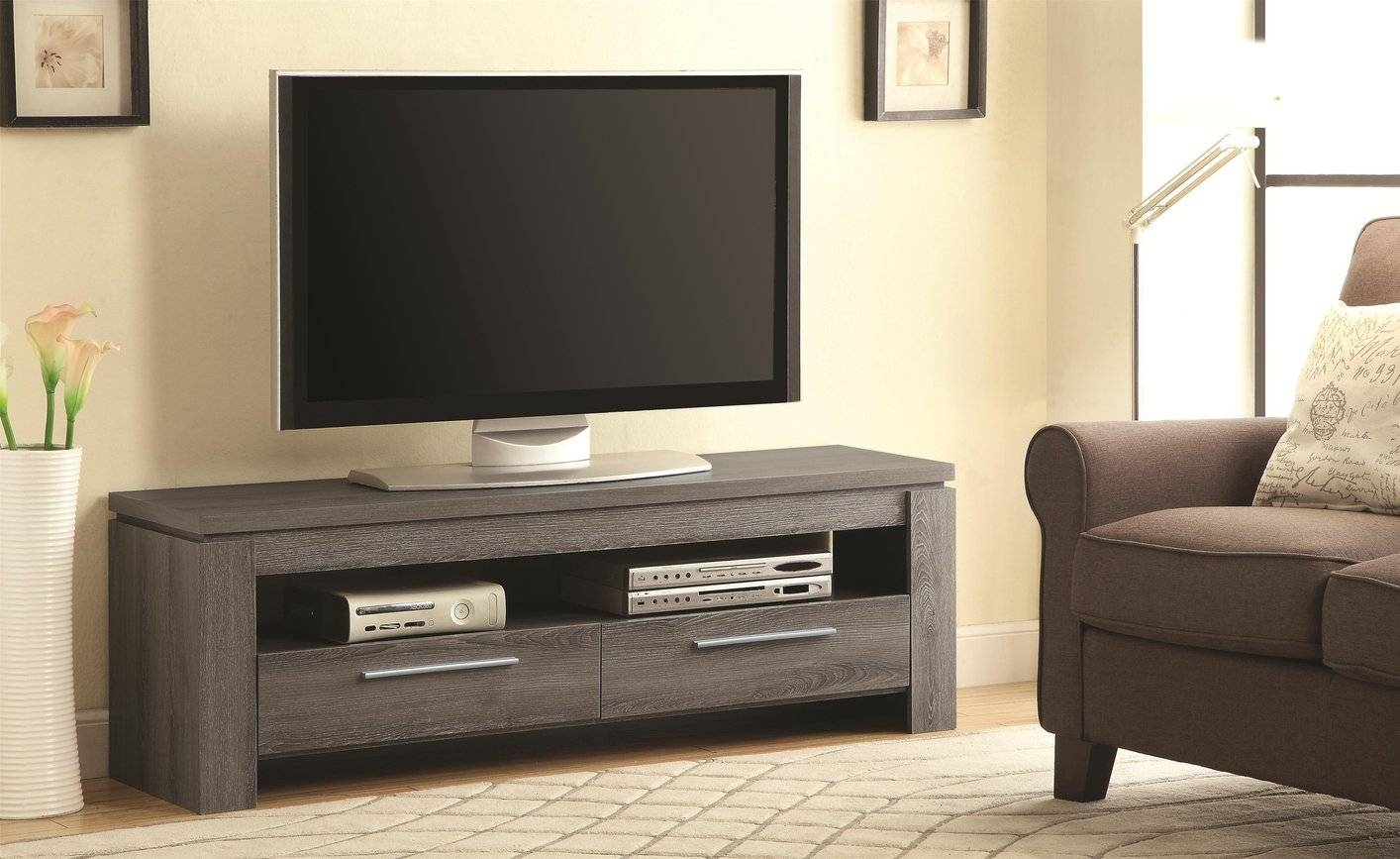 Grey Wood Tv Stand - Steal-A-Sofa Furniture Outlet Los Angeles Ca with regard to Grey Wood Tv Stands (Image 2 of 15)