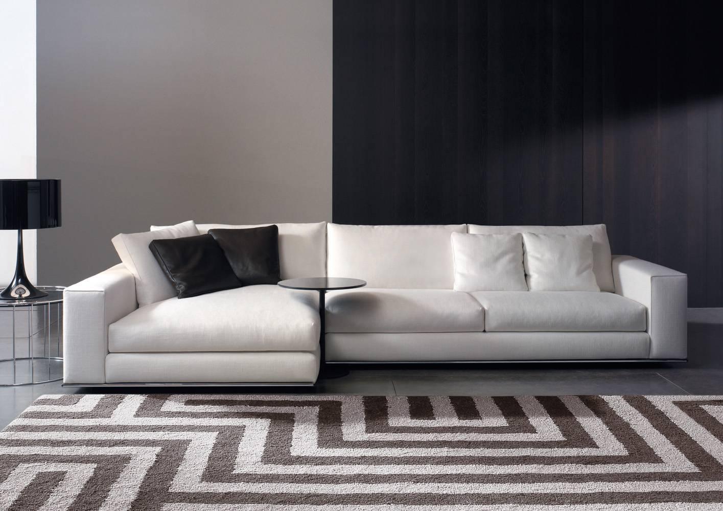 Hamilton Sofa | Designedrodolfo Dordoni, Minotti, Orange Skin for Hamilton Sofas (Image 8 of 15)