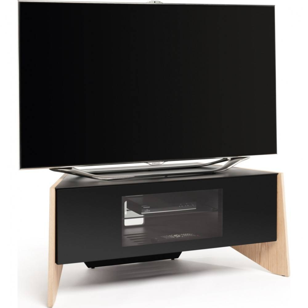 Handle-Less Drop Down Door; Screens Up To 50 with Techlink Tv Stands (Image 10 of 15)