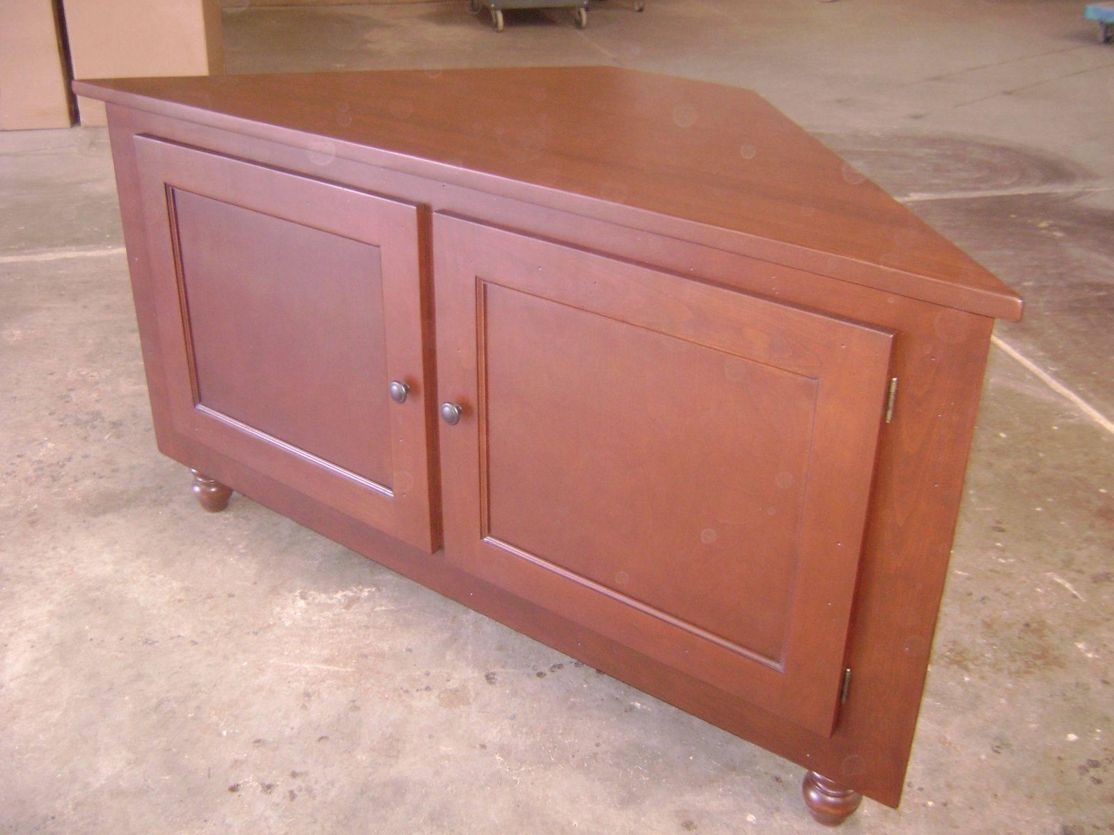 Handmade Maple Corner Cabinetphilip Skinner Furniture With Regard To Maple Tv Cabinets (View 7 of 15)
