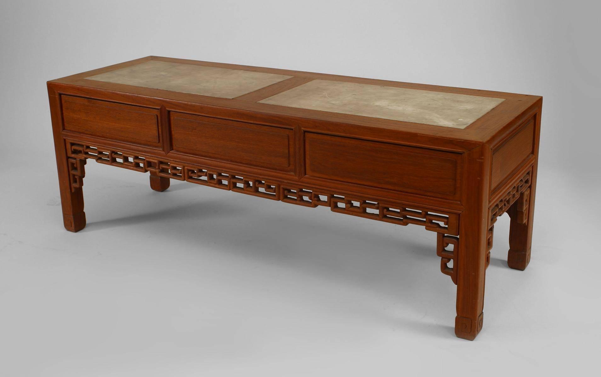 Henredon Oriental Sofa Table | Centerfieldbar within Asian Sofa Tables (Image 9 of 15)