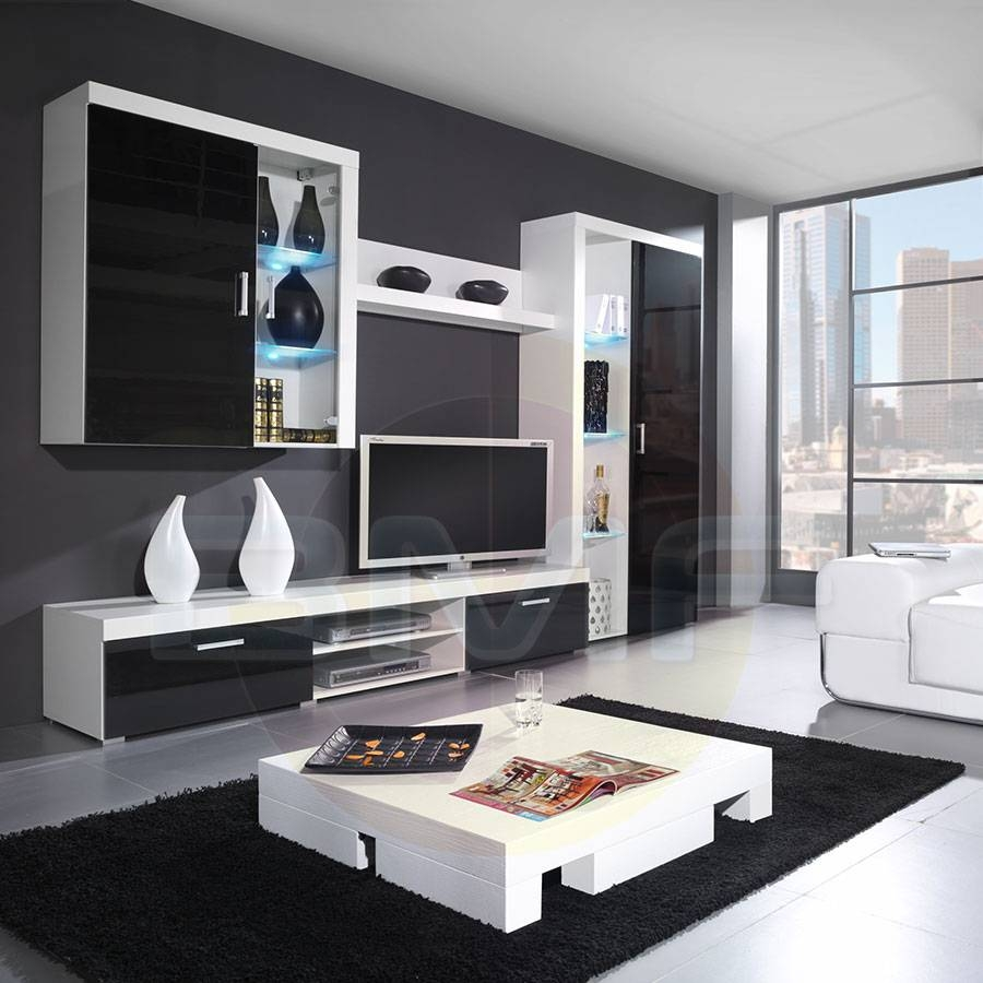 High Gloss Furniture – Bestmodernfurniture.co.uk pertaining to Black Gloss Tv Wall Unit (Image 4 of 15)