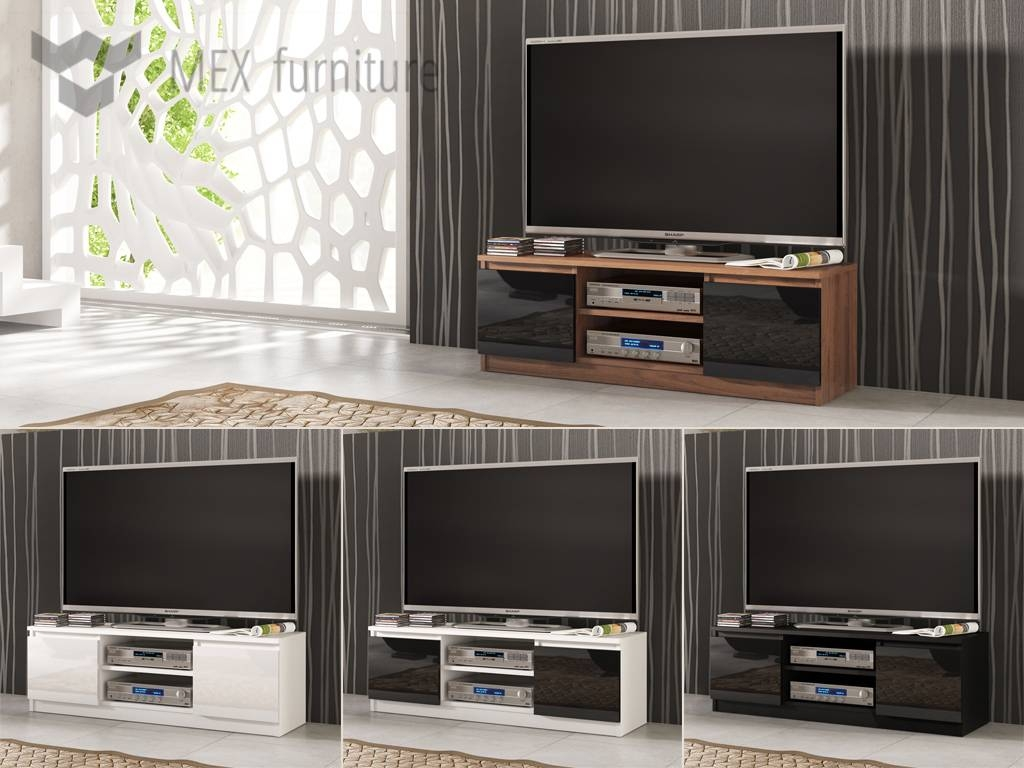 High Gloss Tv Cabinets, Unit - Mex Furniture throughout High Gloss Tv Cabinets (Image 11 of 15)