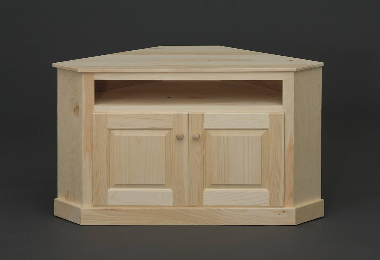 Holmwoods\ Furniture\ And\ Decorating\ Center – Unfinished Occasional For Pine Corner Tv Stands (View 6 of 15)
