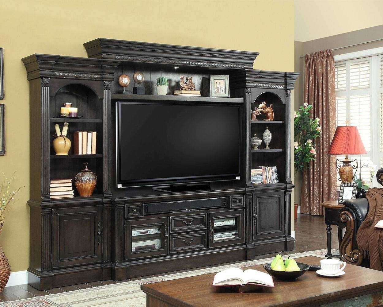 Home Entertainment Wall Units | Wall Entertainment Centers Regarding Tv Entertainment Units (View 11 of 15)