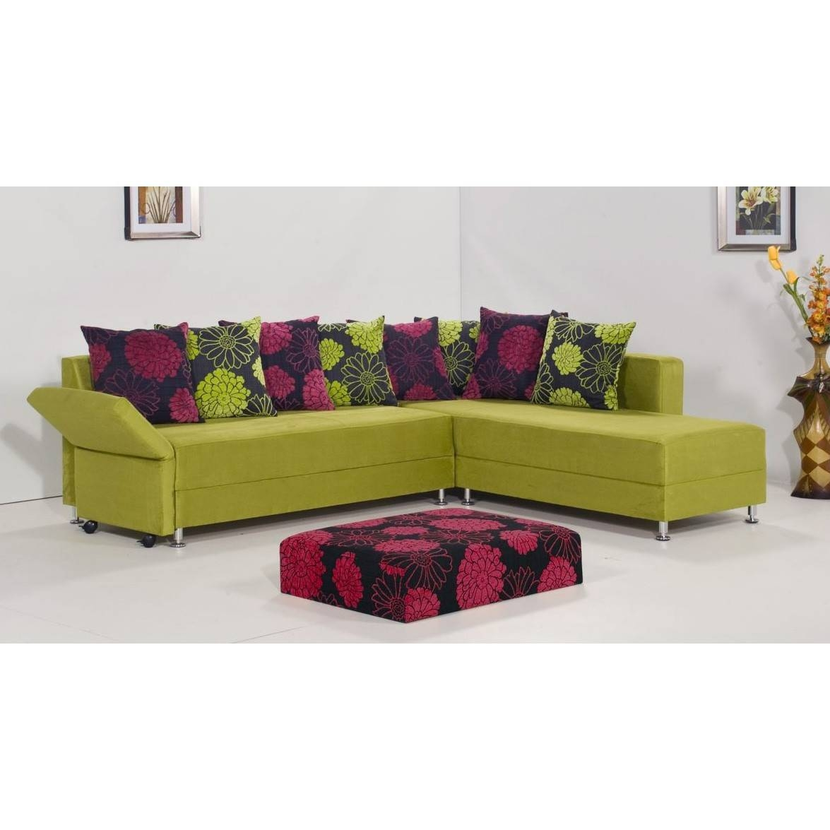 Home Interiror Decor Blog - Part 2 regarding Green Leather Sectional Sofas (Image 6 of 15)