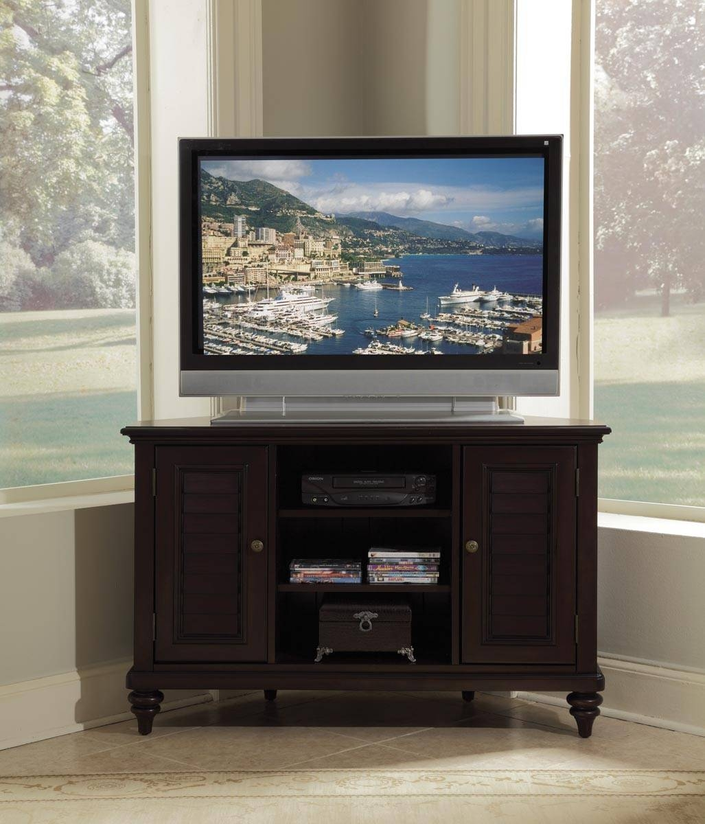 Home Styles Bermuda Corner Tv Stand 554X-07 with regard to Expresso Tv Stands (Image 9 of 15)