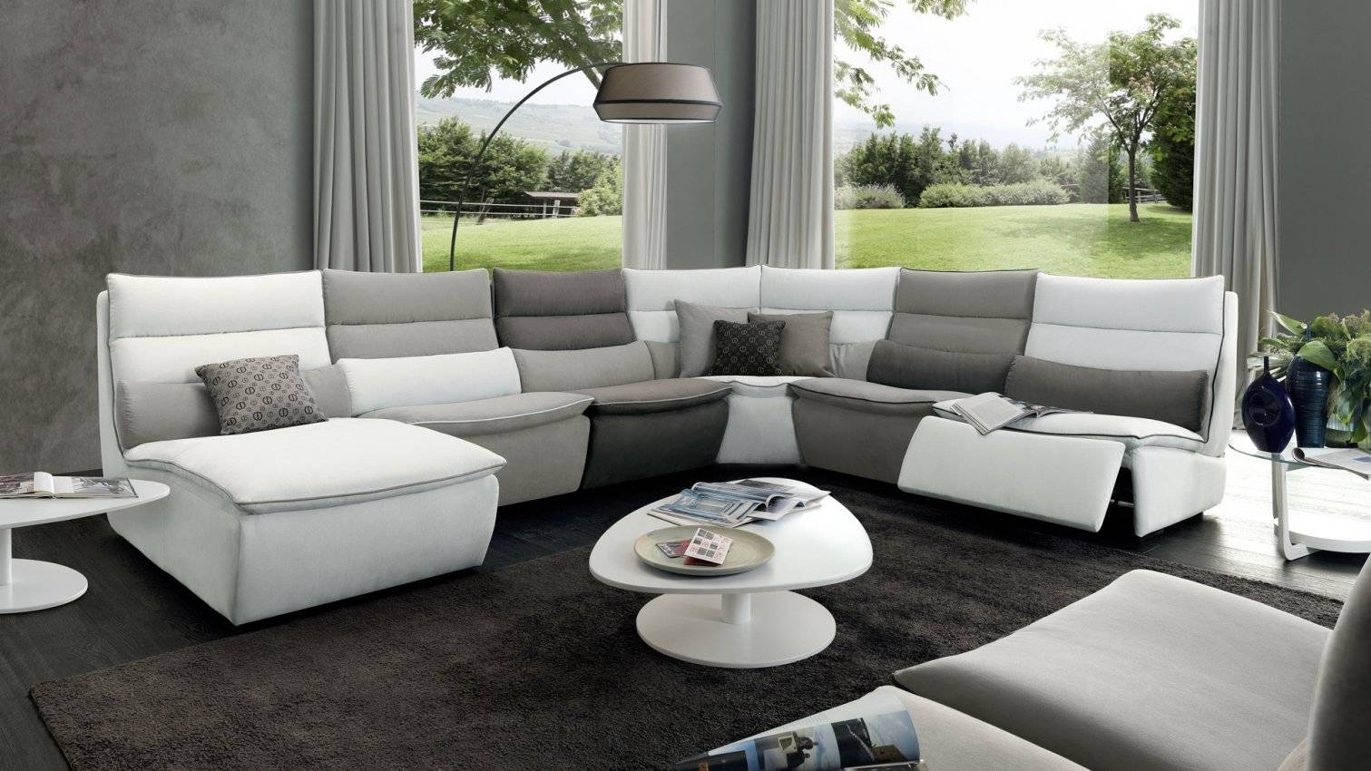 Home throughout Divani Chateau D'ax Leather Sofas (Image 13 of 15)