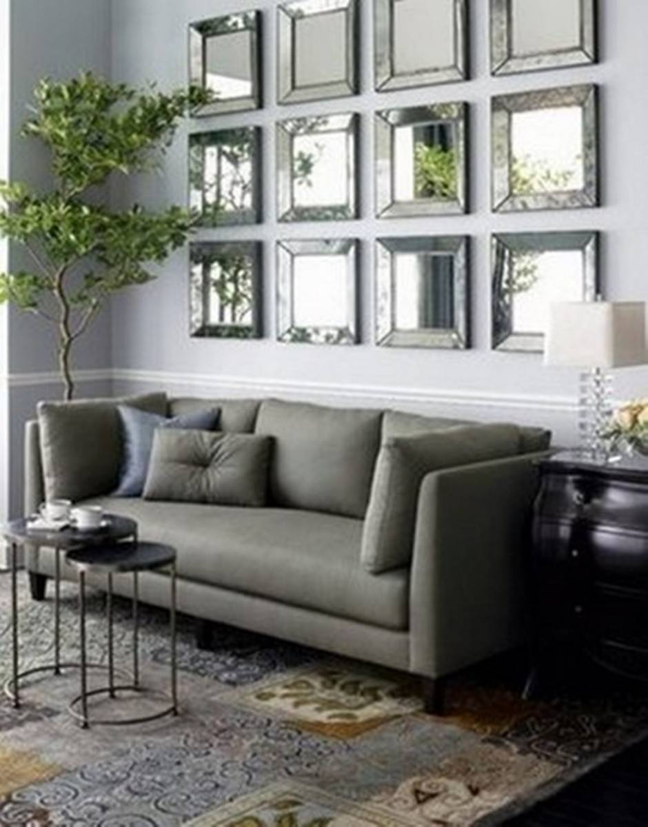 How To Add Style And Creativity To Your Home With Mirrors in Mirror Above Sofas (Image 4 of 15)