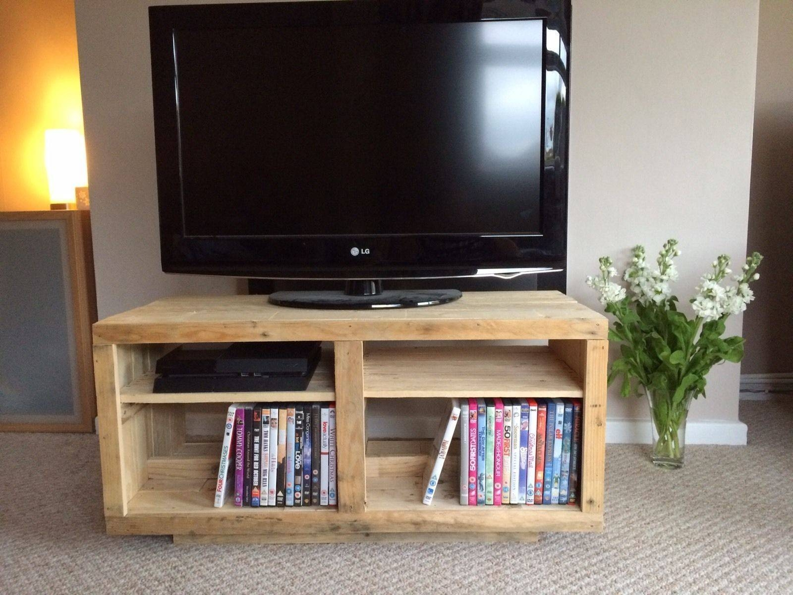 How To Build A Tv Stand Out Of Wood | Ebay pertaining to Upright Tv Stands (Image 5 of 15)