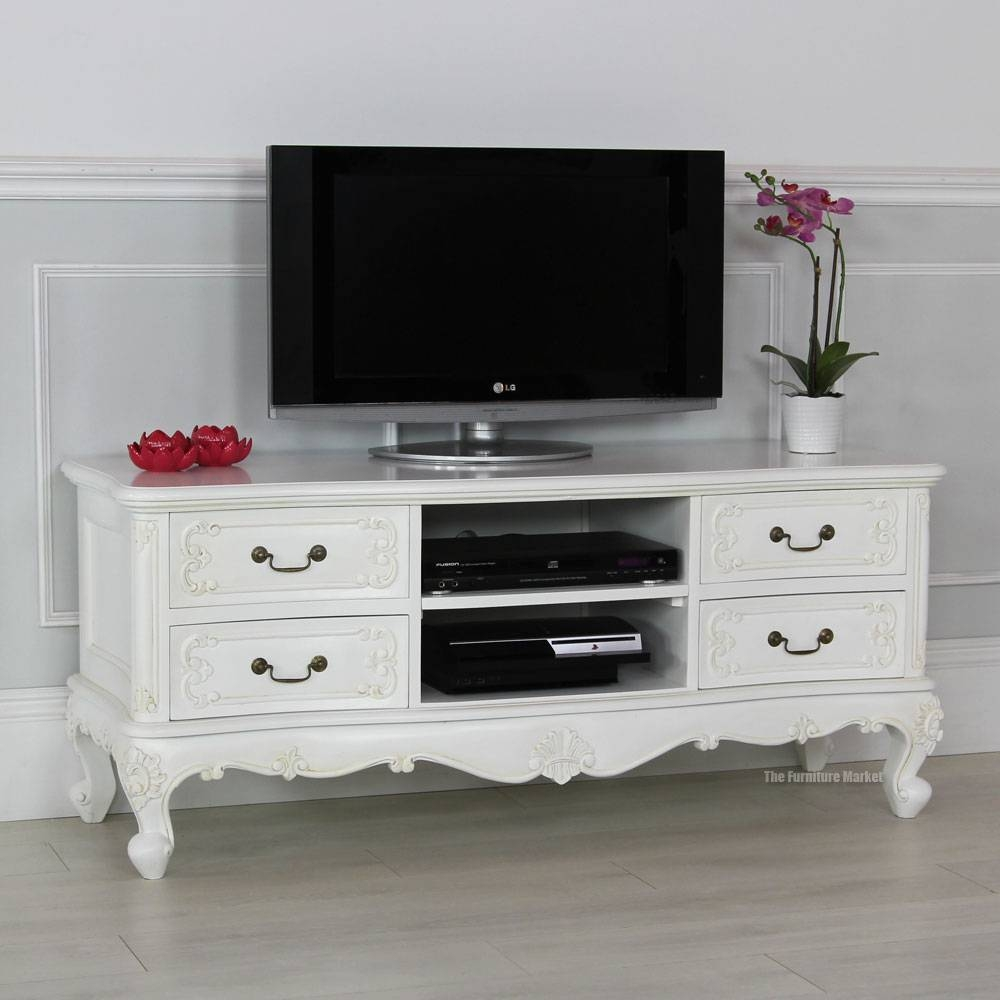How To Create A French Chateau Interior In French Tv Cabinets (View 12 of 15)