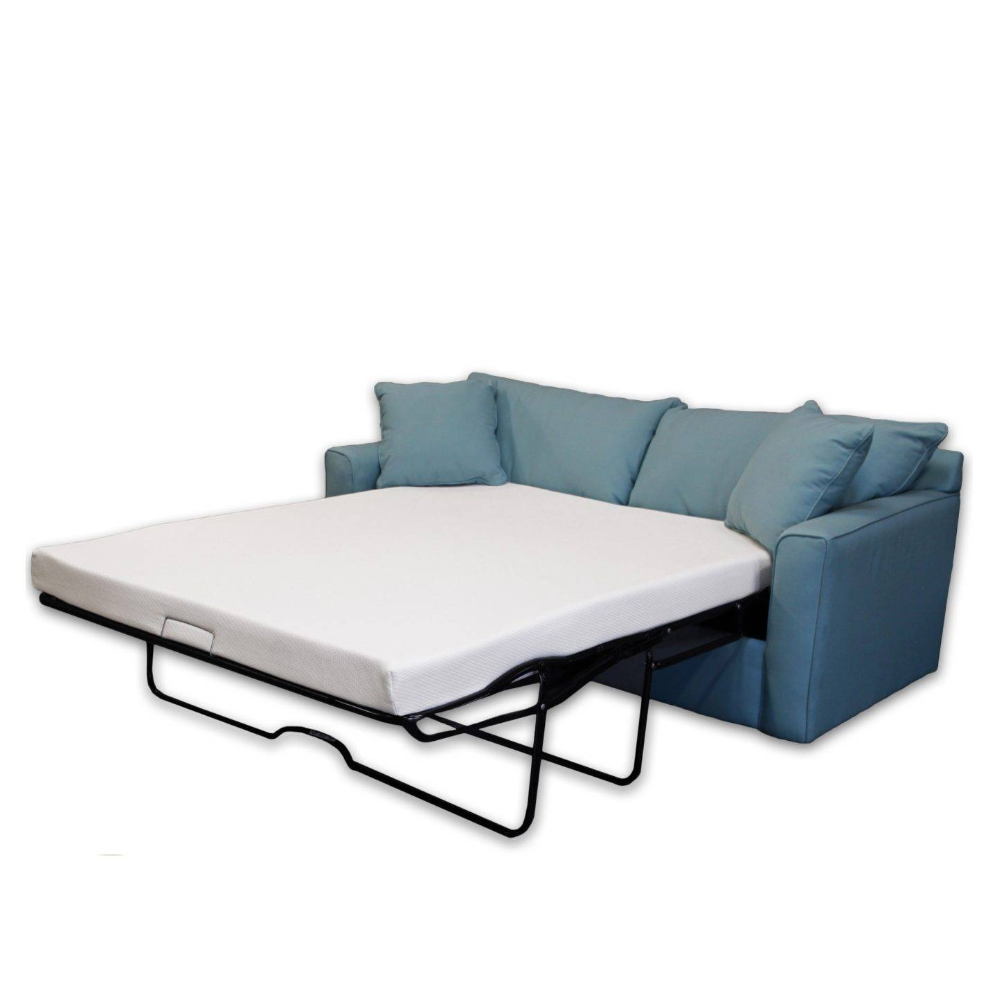 How To Make A Pull Out Sofa Bed More Comfortable – Overstock With Regard To Sofa Beds With Mattress Support (View 5 of 15)