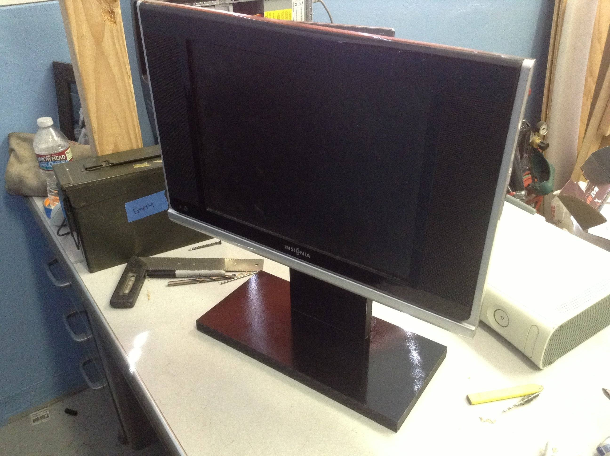 How To Make A Quick Tv Stand – Youtube Within Universal 24 Inch Tv Stands (View 12 of 15)