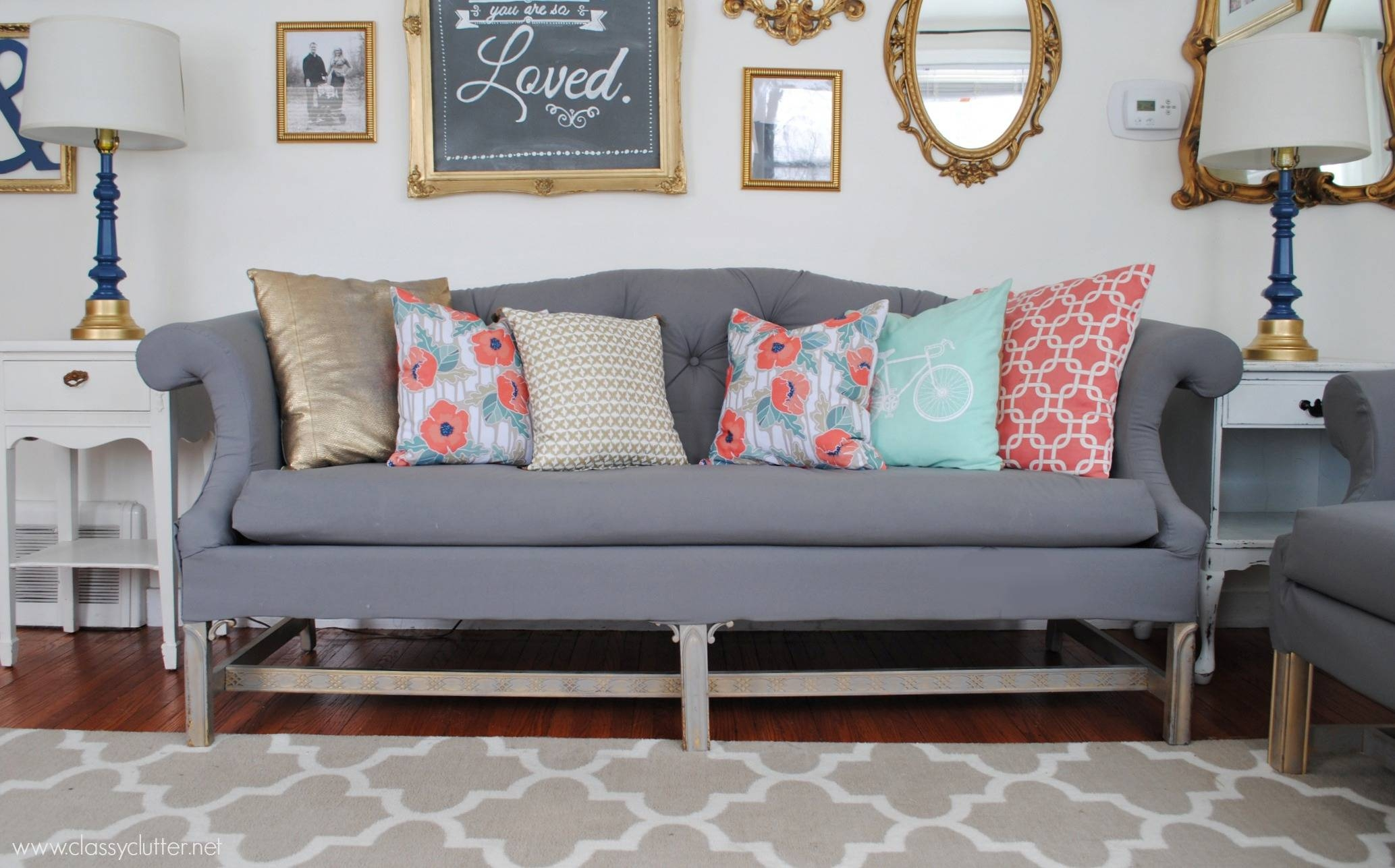 How To Reupholster A Sofa regarding Reupholster Sofas Cushions (Image 9 of 15)