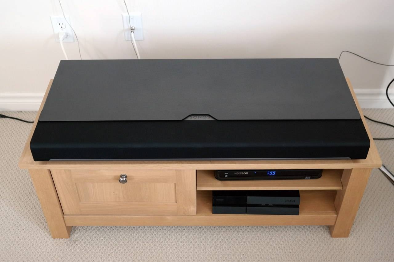 How To: Transform Your Sonos Playbar Into A Sound Base – We Got Served Regarding Sonos Tv Stands (View 9 of 15)
