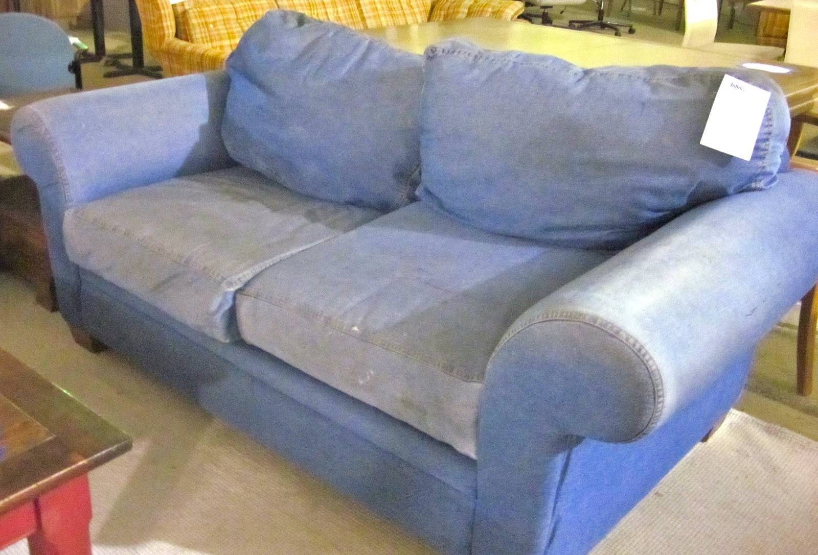 I Heart Ashley | Ashley Furniture for Denim Sofas and Loveseats (Image 10 of 15)