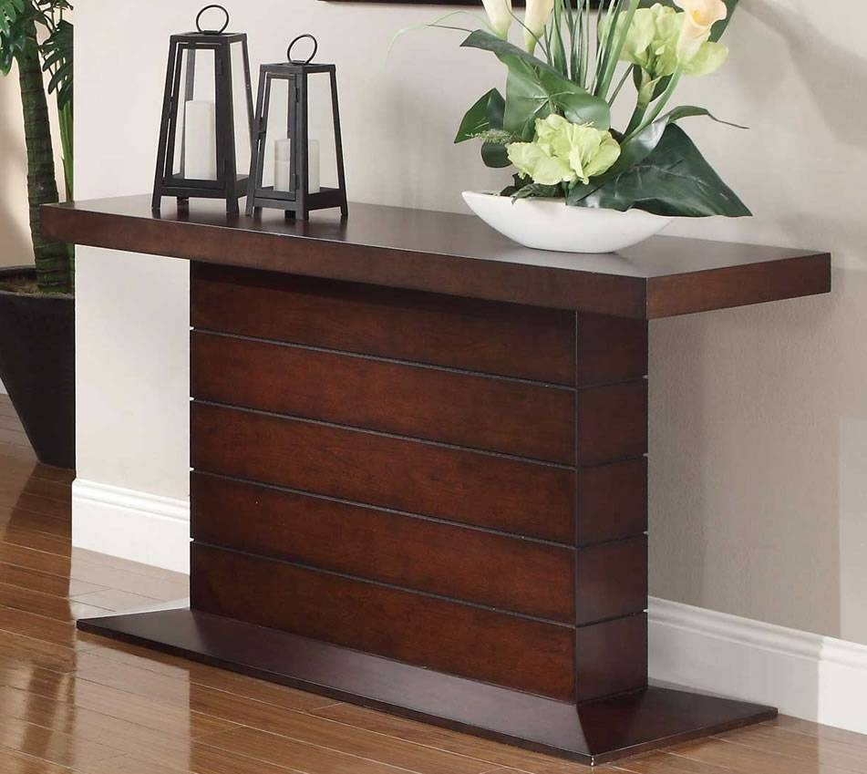 Ideas Cherry Wood Sofa Table — Home Design Stylinghome Design Styling pertaining to Cherry Wood Sofa Tables (Image 8 of 15)