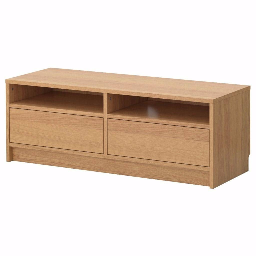 Ikea Besta Tv Stand Tv Unit Tv Bench Oak With Drawers | In for Tv Stands in Oak (Image 4 of 15)