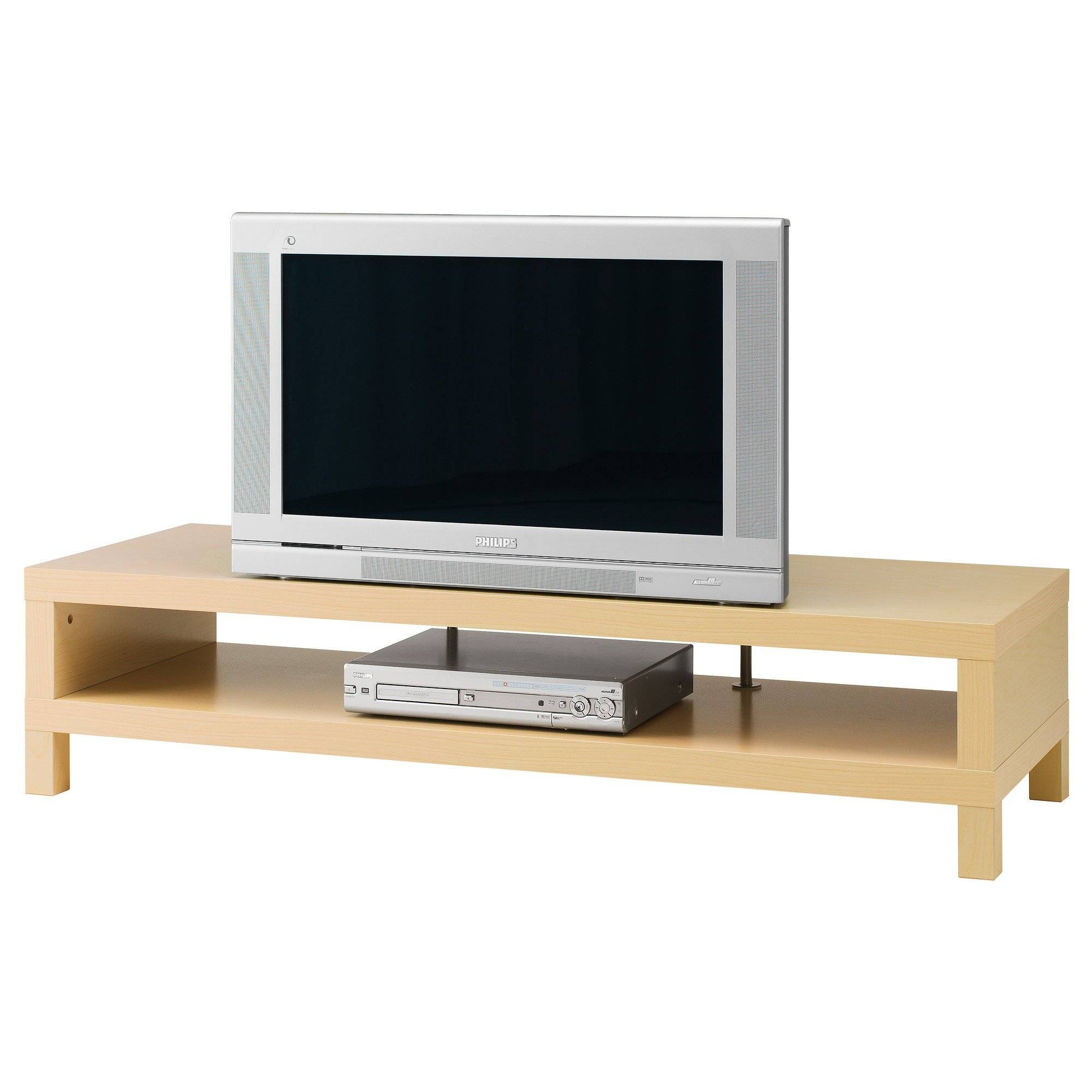 Ikea Besta Tv Stand With Rectangular Tv On Dark Brown Wooden Tv Regarding Rectangular Tv Stands (View 14 of 15)