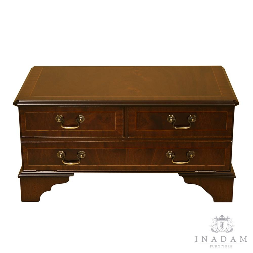 Inadam Furniture - Chest Front Tv Stand - In Mahogany/yew/oak regarding Mahogany Tv Stands (Image 10 of 15)