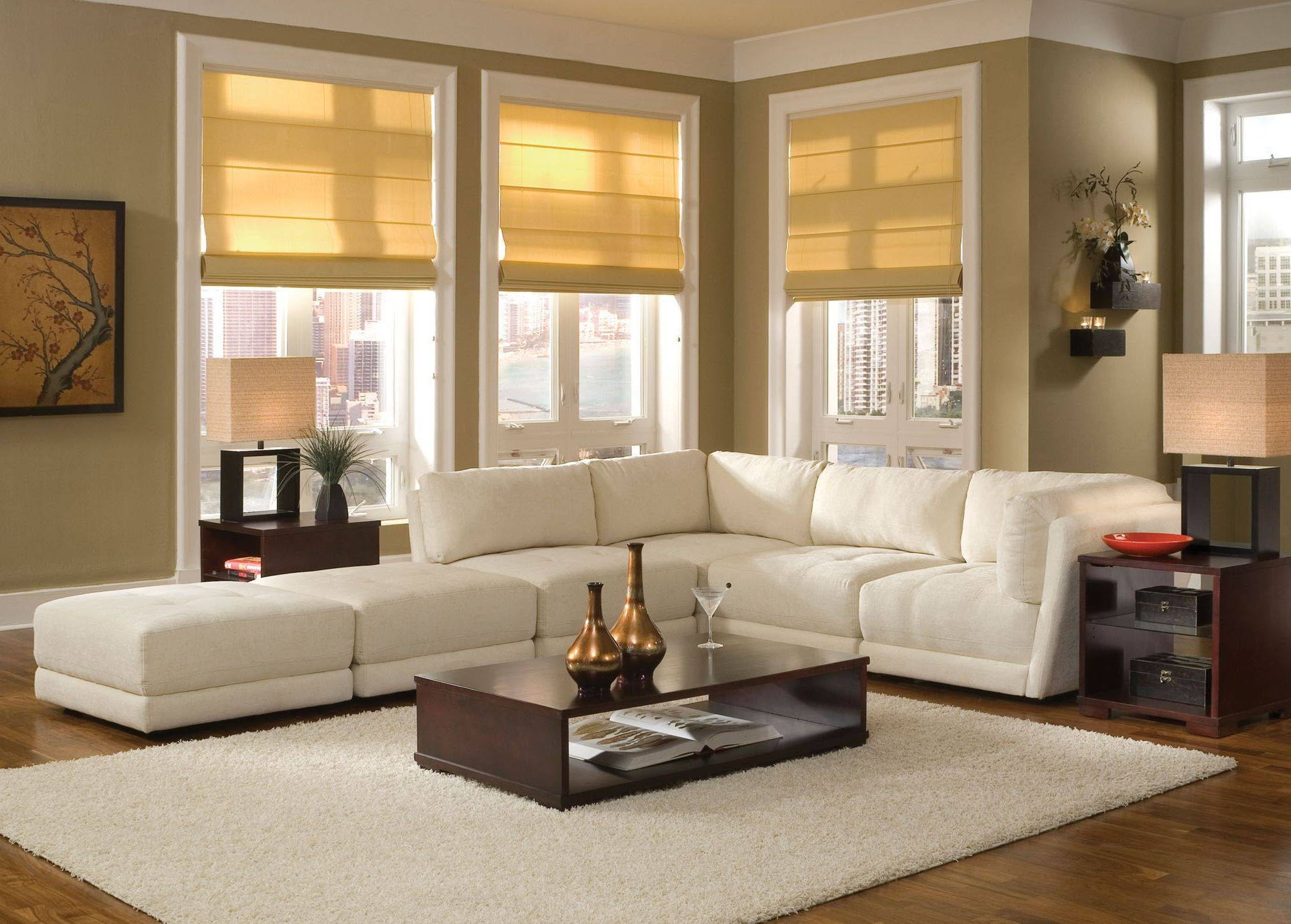 Incredible Decorating Sofas For Small Living Room Nice Designing regarding Window Sofas (Image 9 of 15)