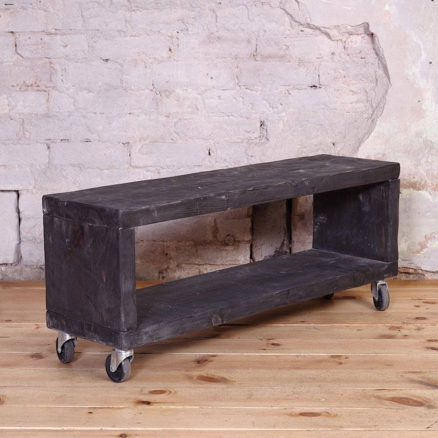 Industrial Tv Unit / Tv Stand | Cosywood.co (View 8 of 15)