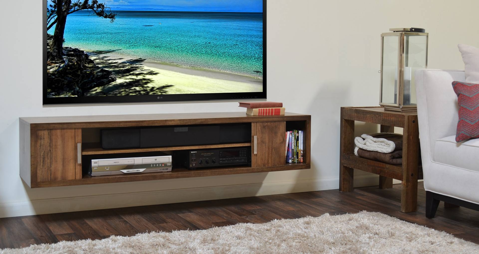 Inspirational Photos Of Wall Mount Tv Stands - Furniture Designs with Acrylic Tv Stands (Image 8 of 15)