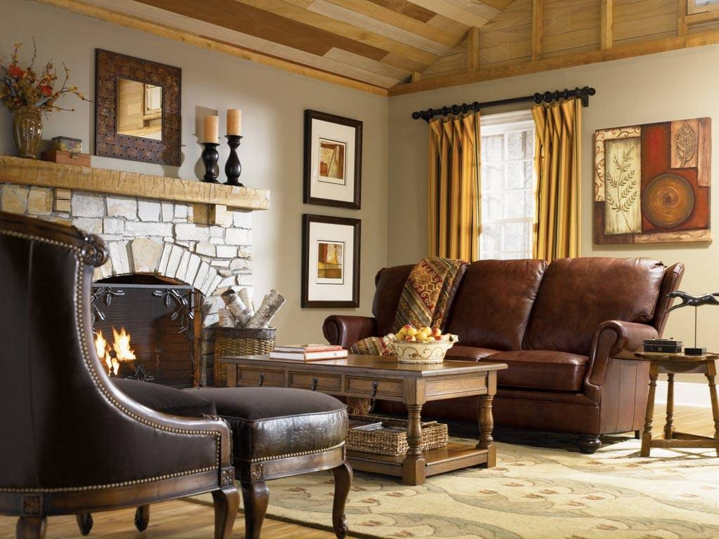 Inspiring Country Style Living Room Furniture Ideas – Cottage intended for Country Style Sofas (Image 9 of 15)