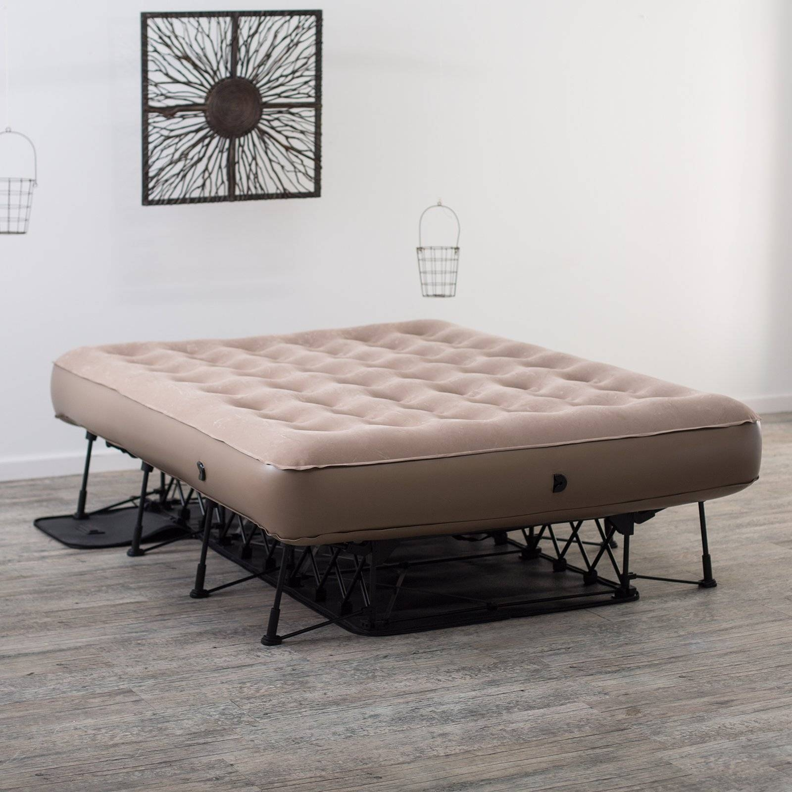 Insta-Bed Ez Air Bed With Neverflat Ac Pump, Queen - Walmart pertaining to Inflatable Full Size Mattress (Image 3 of 15)