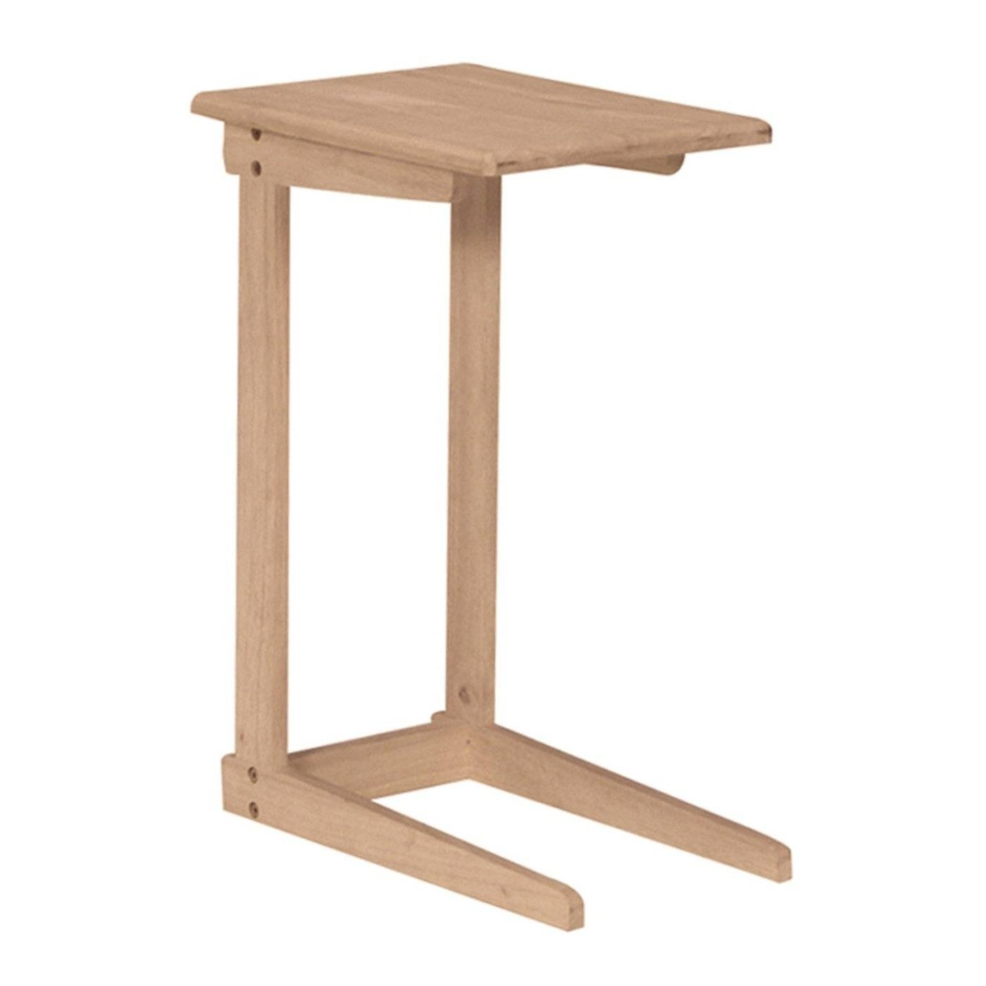 International Concepts Ot-10 Sofa Server Tray Table | The Mine regarding Under Sofa Tray Tables (Image 4 of 15)