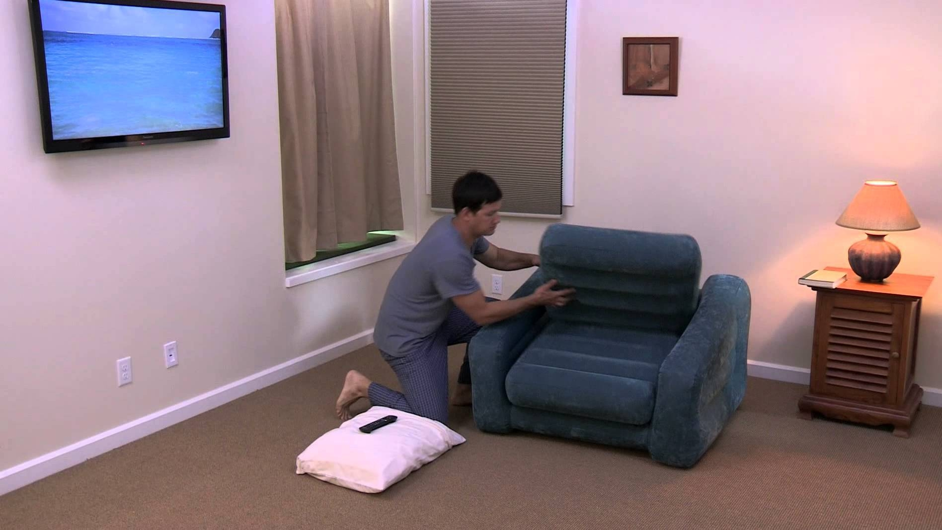 Intex 68565 - Pull Out Chair - Youtube in Intex Pull Out Chairs (Image 4 of 15)