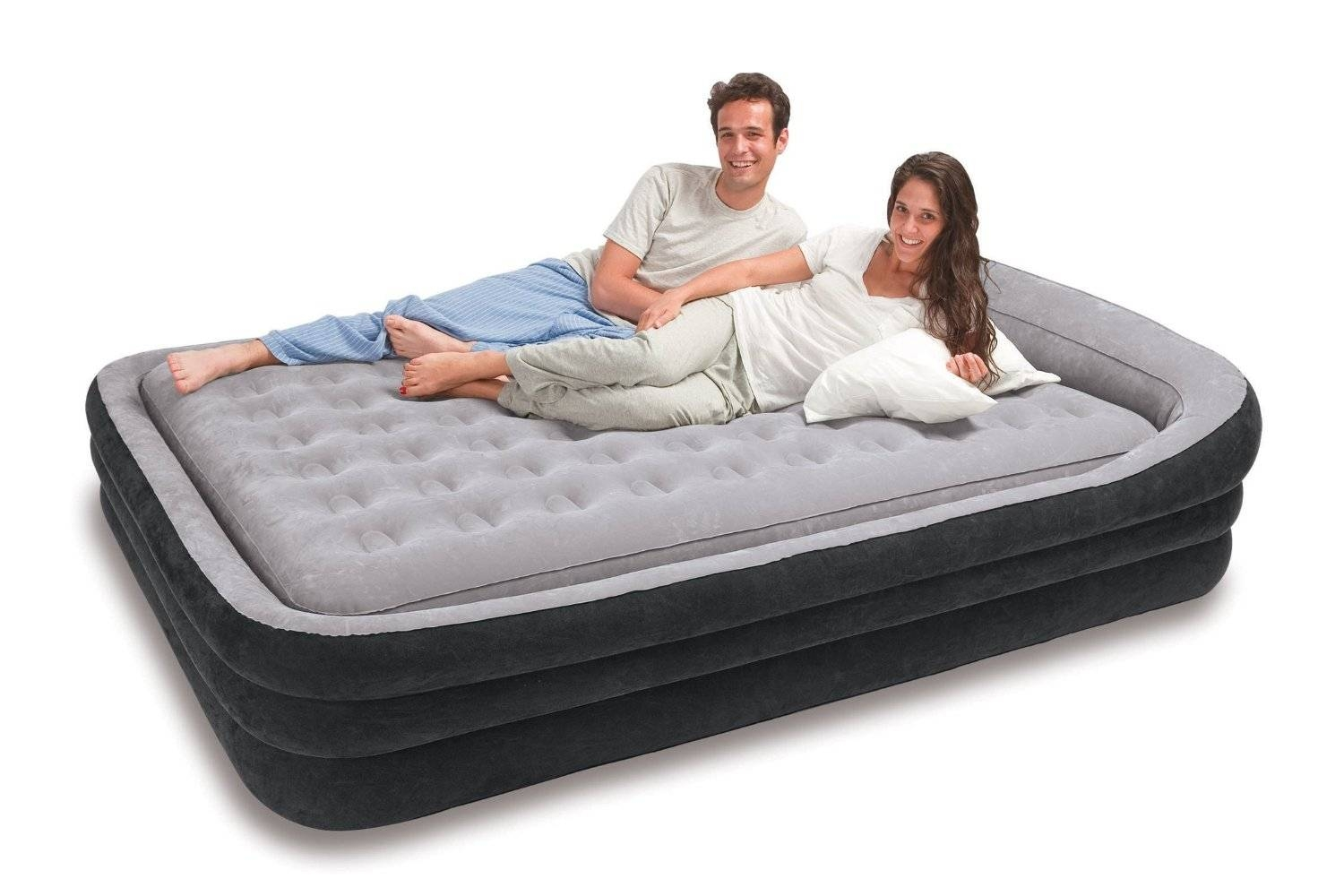 Intex Classic Downy Bed   Is This Industry Classic Still Worth It? With Inflatable Full Size Mattress (Photo 14 of 15)