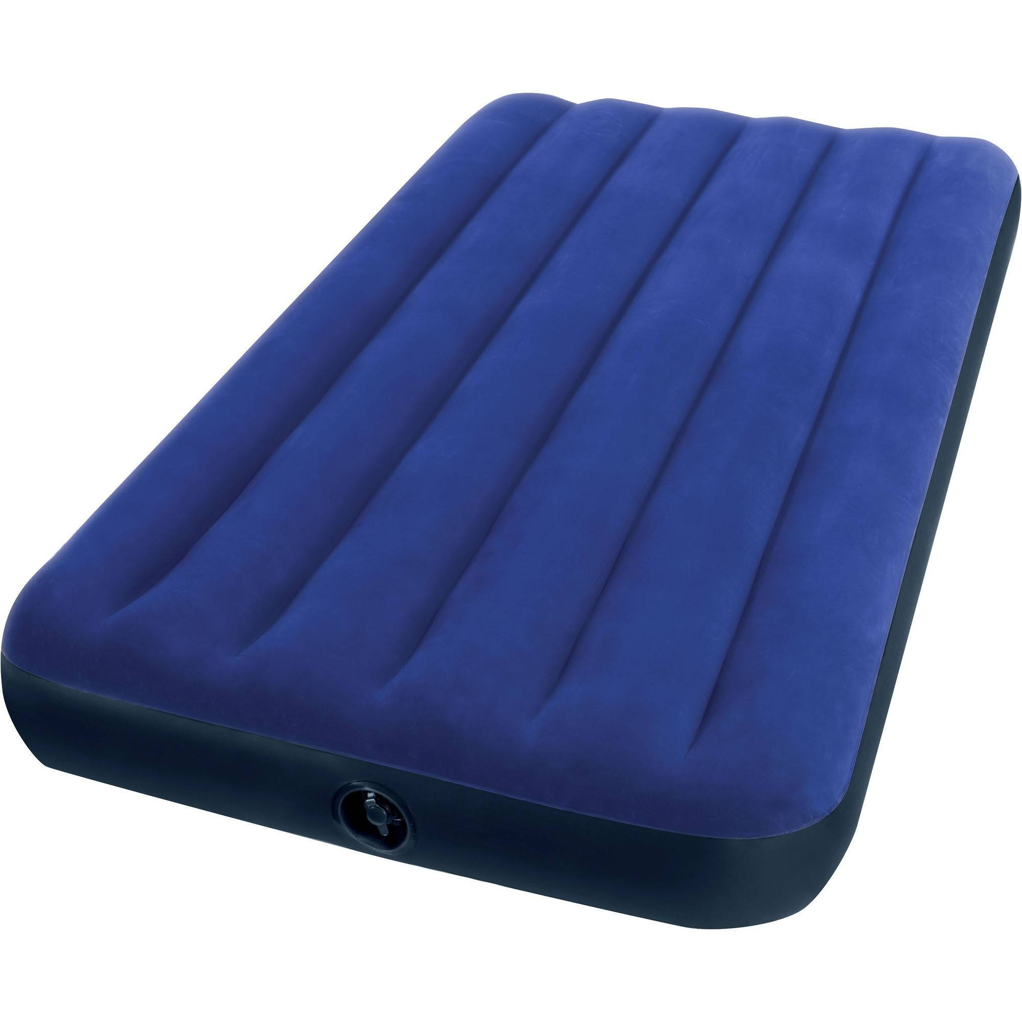 "Intex Twin 10"" Durabeam Deluxe Single High Airbed Mattress Throughout Inflatable Full Size Mattress (Photo 2 of 15)"