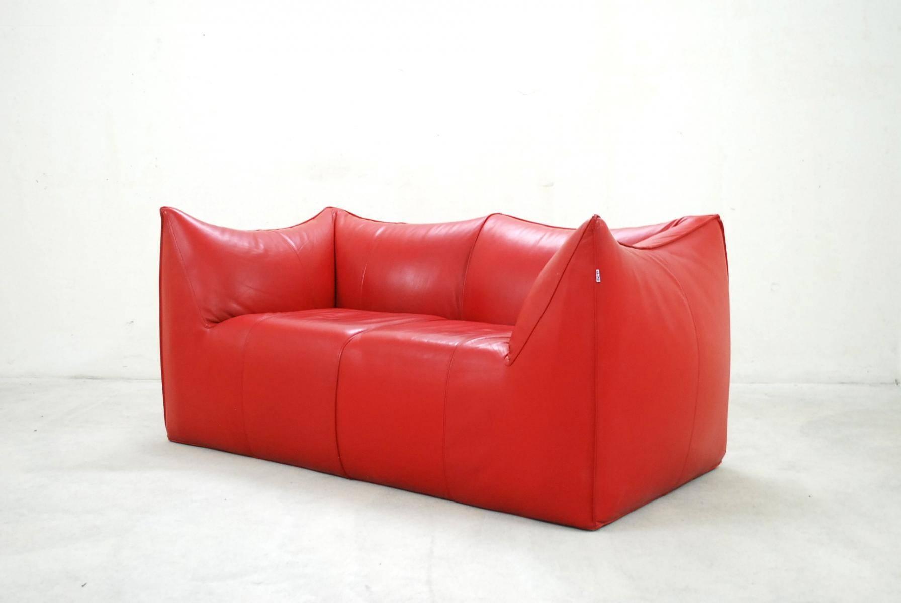 Italian Le Bambole Leather Sofamario Bellini For B&b Italia inside Bellini Couches (Image 3 of 15)