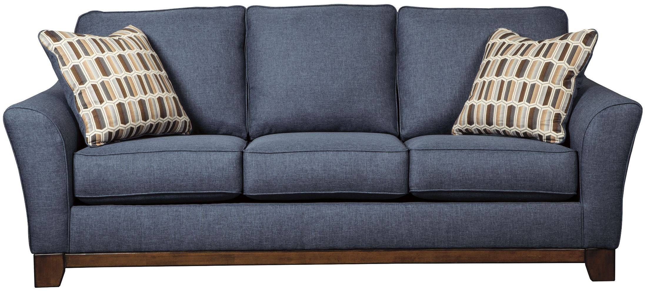 Janley Denim Sofa with Denim Sofas and Loveseats (Image 13 of 15)