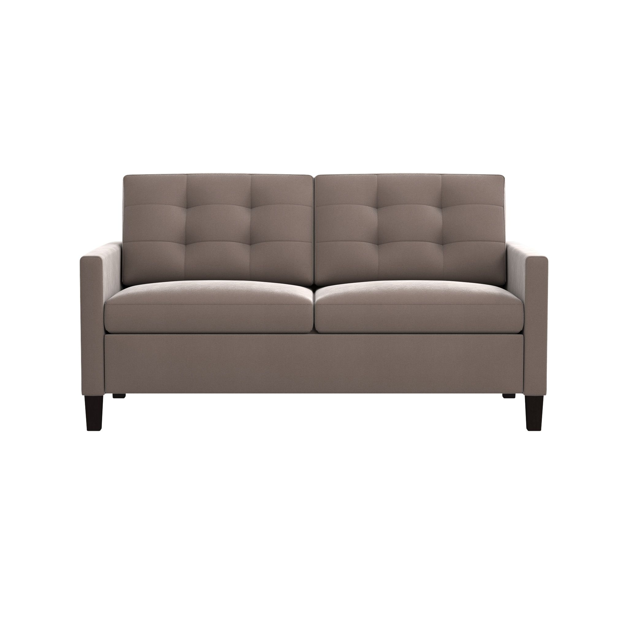 Karnes Grey Queen Sleeper Sofa | Crate And Barrel for Crate And Barrel Sofa Sleepers (Image 8 of 15)