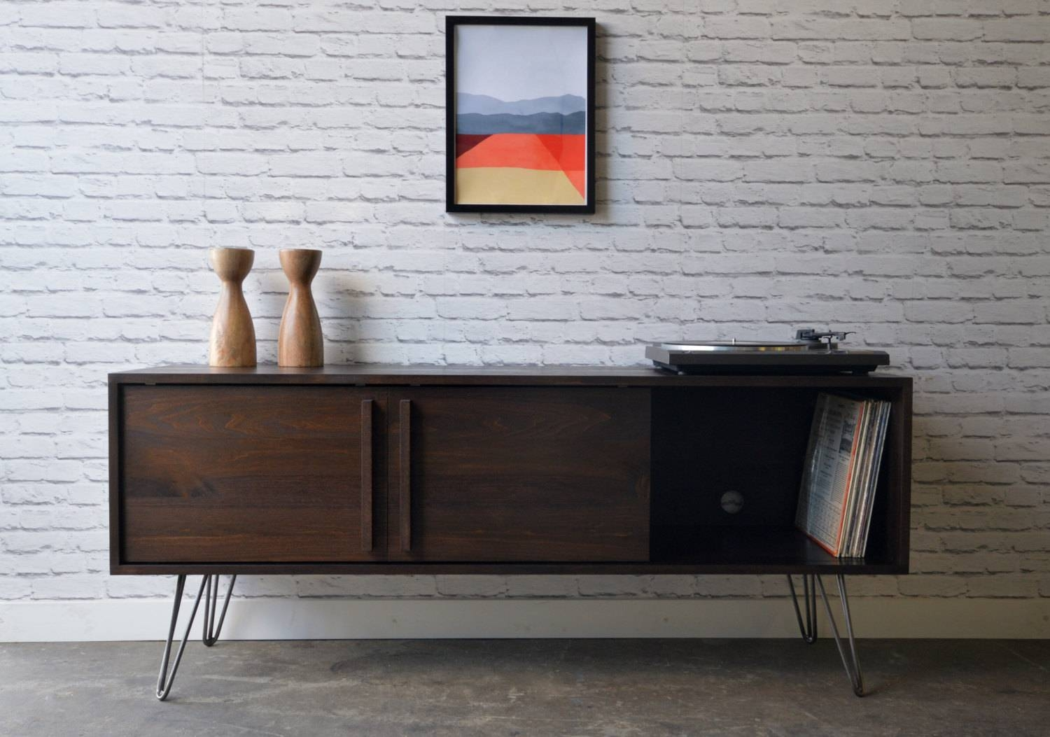 Kasse Tv Stand With Hairpin Legs within Hairpin Leg Tv Stands (Image 8 of 15)