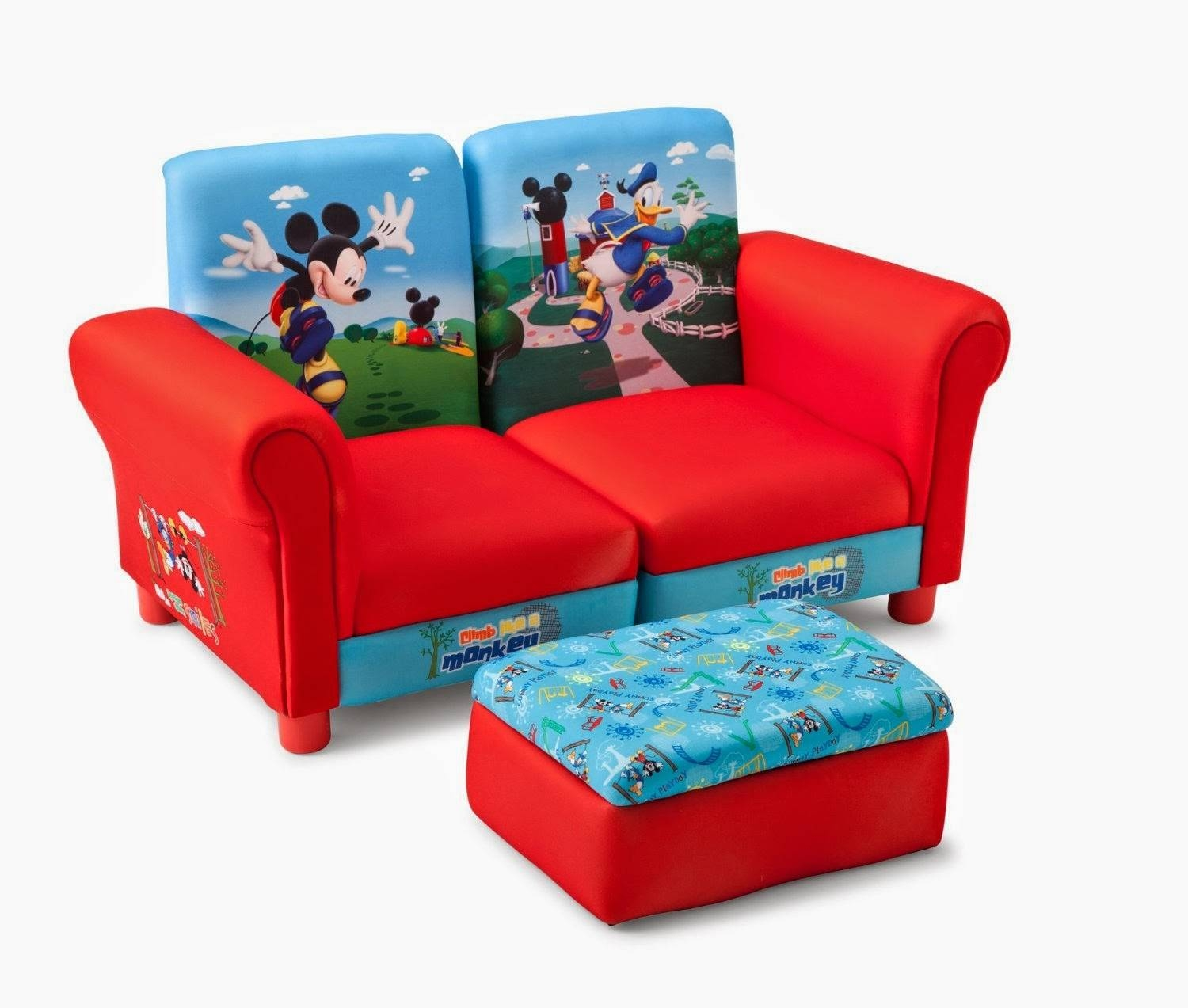 Kids Couch: Kids Sectional Couch With Regard To Mickey Flip Sofas (View 5 of 15)