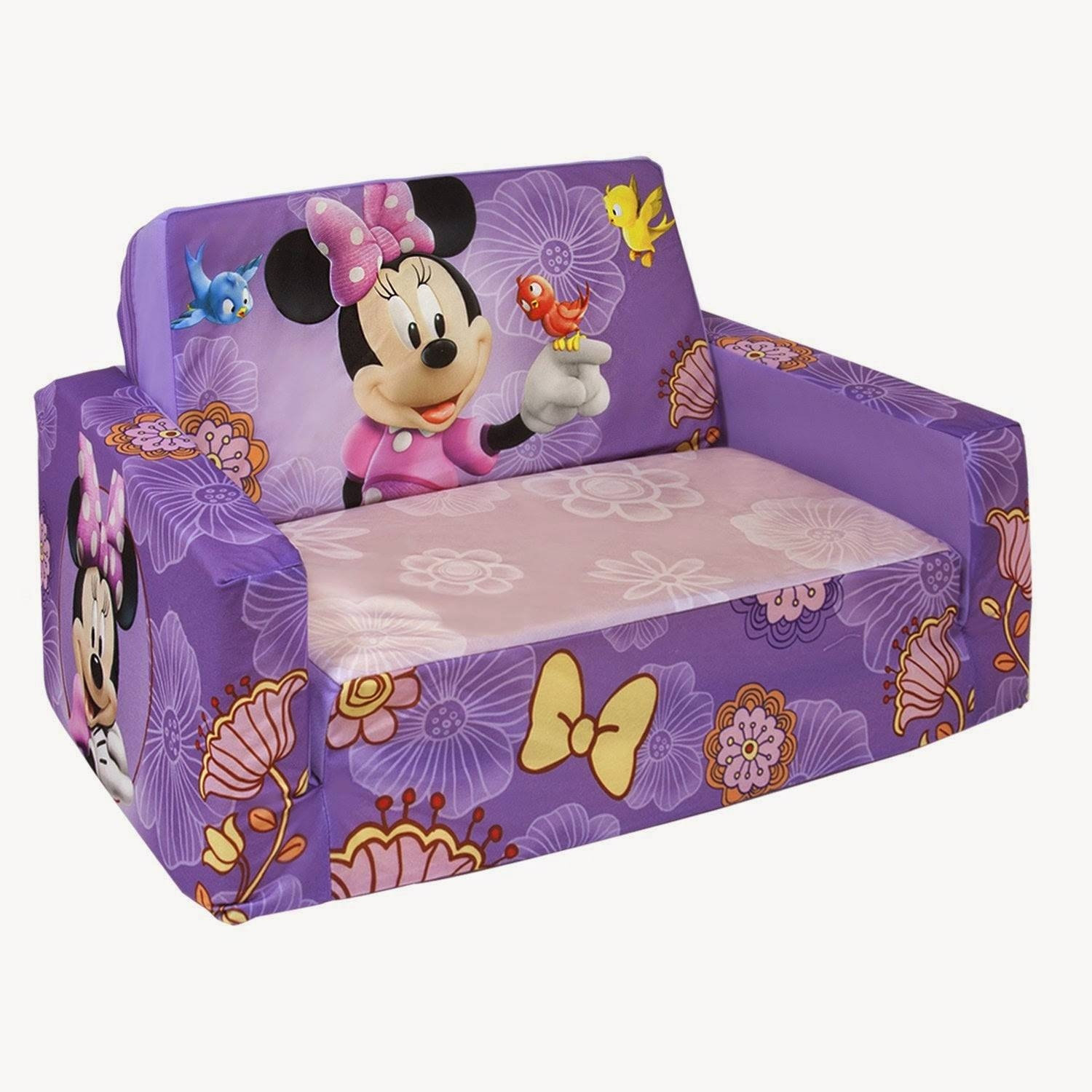 Kids Couch with Flip Open Sofas for Toddlers (Image 7 of 15)