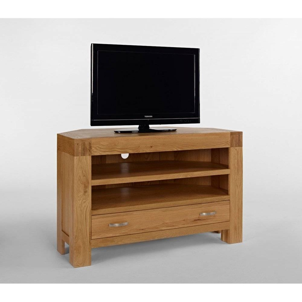 Featured Photo of Chunky Oak Tv Unit