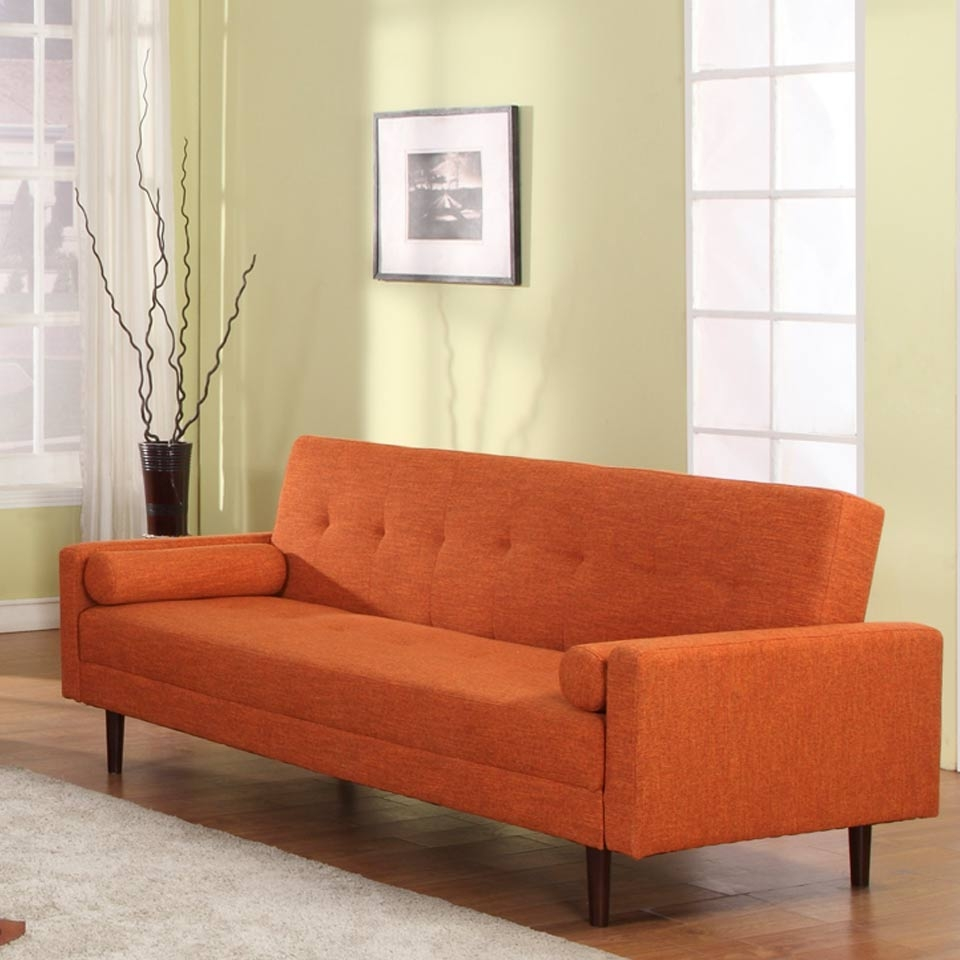Orange Modern Sofa Coaster Kesson Mid Century Modern Sofa