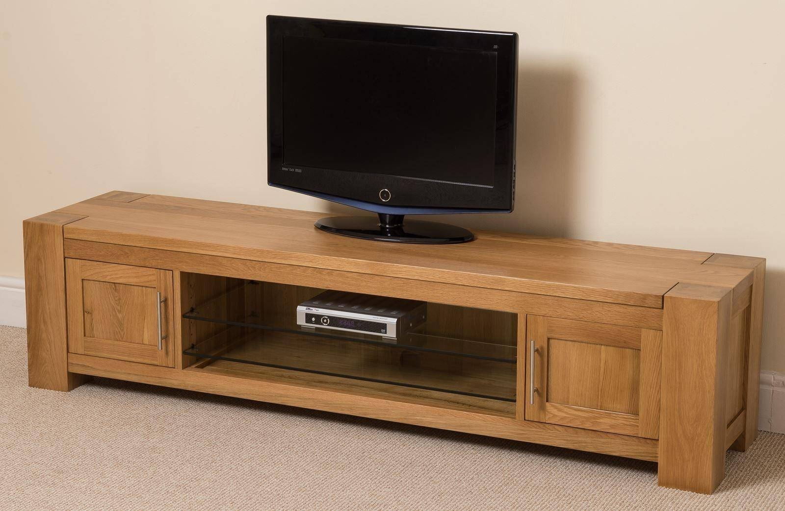 Kuba Solid Widescreen Tv Cabinet | Modern Furnitur Direct with Widescreen Tv Cabinets (Image 6 of 15)