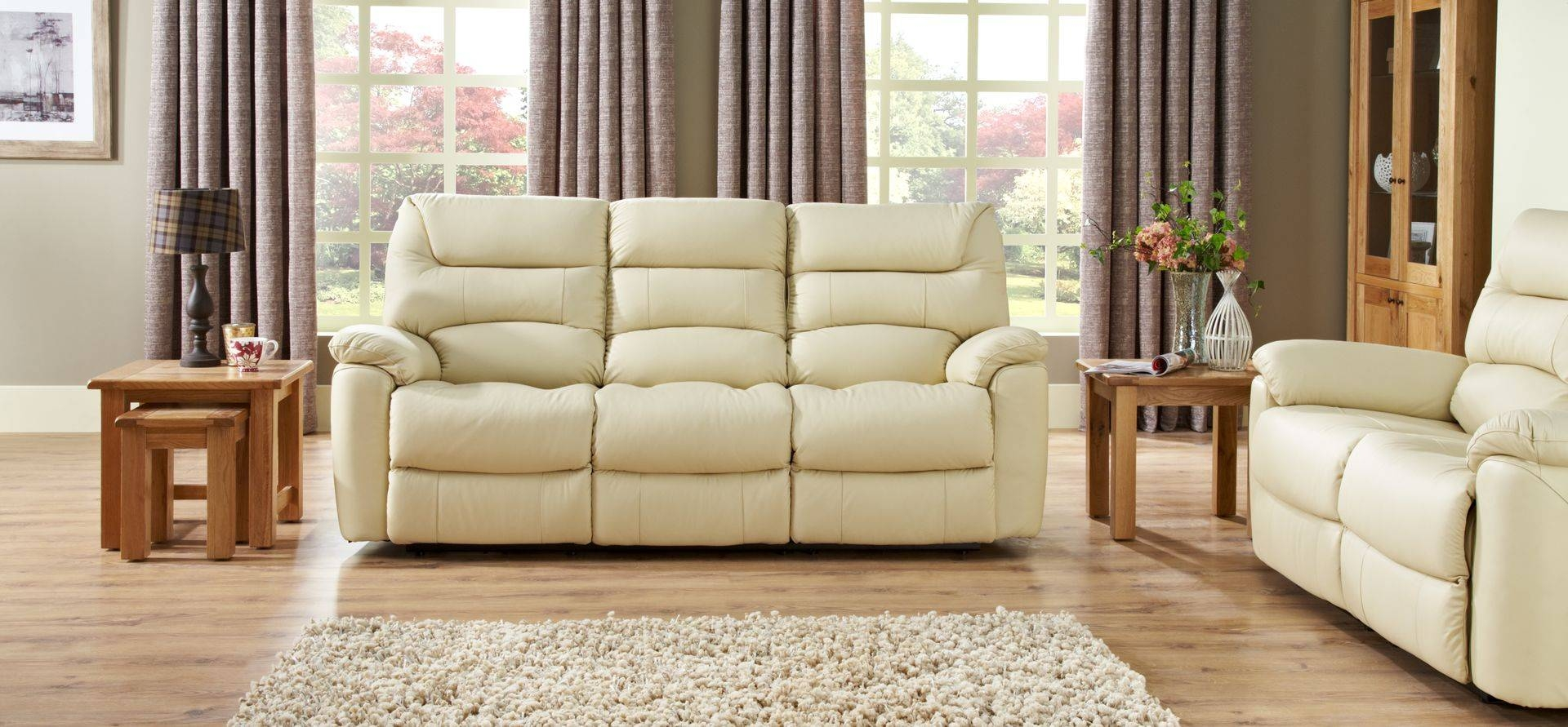 La-Z-Boy Manhattan 3 Seater Manual Recliner Sofa | Scs for Lazy Boy Manhattan Sofas (Image 6 of 15)